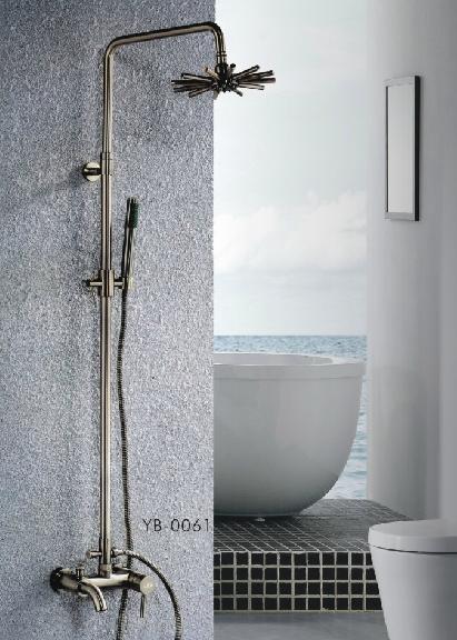 運霸衛浴 入墻式頂蓬淋浴花灑套裝YB-0061