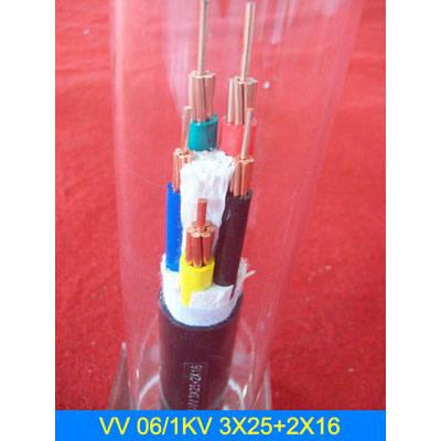 成都VV 0.6/1KV 3X25+2X16