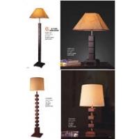 酒店客房台灯、实木台灯、工艺台灯