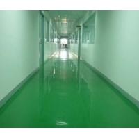 好清洁易保养环保防滑耐磨型车间走廊彩绿色地坪漆地板施工