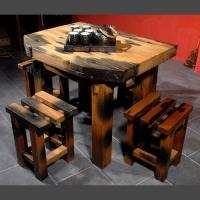 实木家具 休闲桌