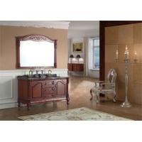 橡木浴室柜,实木浴室柜