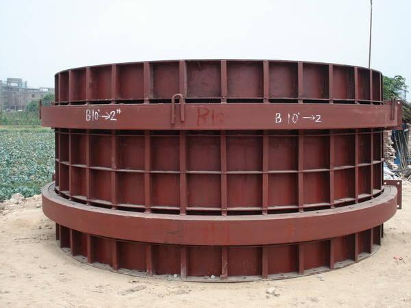 圆柱模板/钢模板/墩柱模板