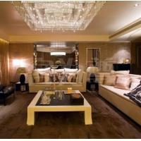 南京装饰-南京室内装修-客为尊装修-客厅效果图1