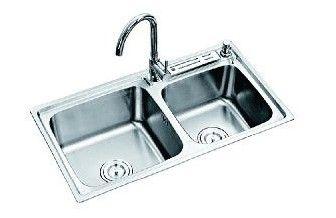 成都亚雕卫浴精品单盆水槽