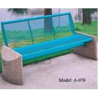 广东现货公园椅 花园休闲长椅 户外铁制休闲椅