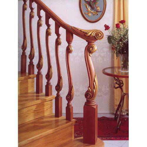 广州乔森楼梯-实木楼梯