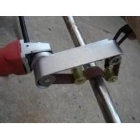 圆管抛光拉丝机、不锈钢管扶手电动抛光砂带机