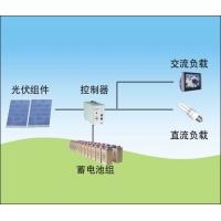 家用太阳能发电原理图