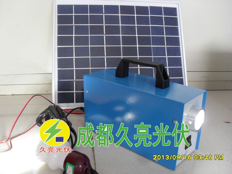 10瓦太阳能发电机,光伏发电体系,成都暂亮光伏