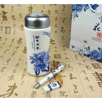 青花瓷 国色天香——盐城晨语莱文具