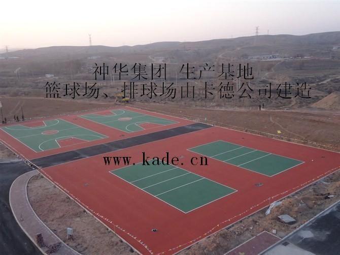 篮球场,排球场