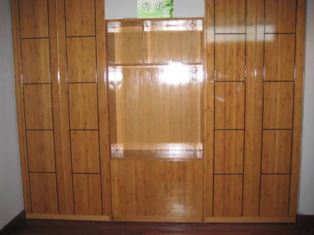竹家具、竹衣柜、竹贴面板