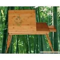 竹电脑桌、竹工艺品