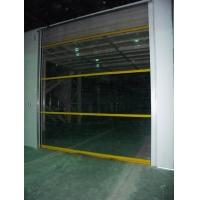 沈阳汽车美容车间透明卷帘门、汽车修理厂透明卷帘门。