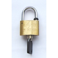 30mm梅花铜锁