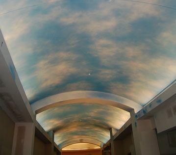 蓝天白云效果涂料威洛尼马来漆硅藻泥