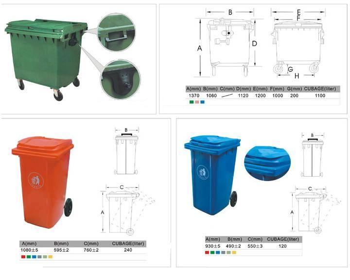 上海塑料垃圾桶 - 九正建材网(中国建材第一网)