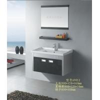 不锈钢彩花浴室柜