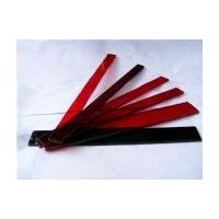 吉林加工红绿条玻璃 红绿条定做批发 中元玻璃