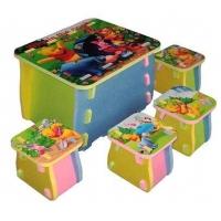 儿童家具卡通书柜高清彩绘机家具印刷机
