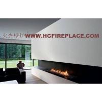 现代燃气壁炉