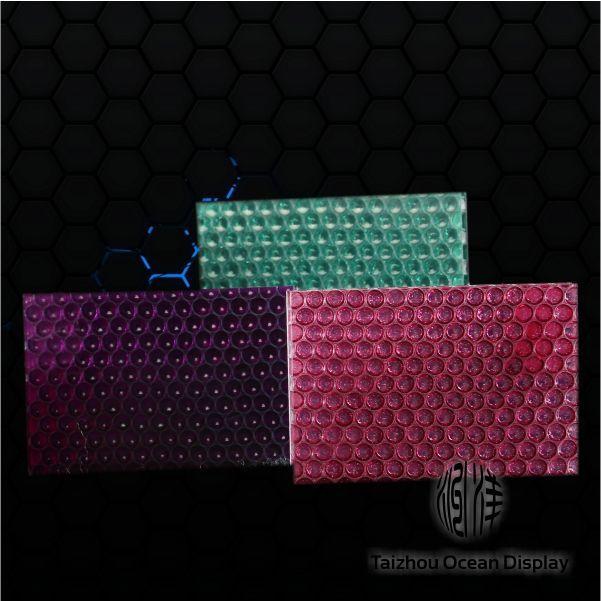 天然树脂透光蜂窝板-pc芯