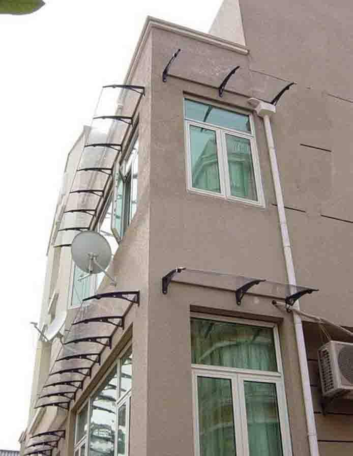 别墅窗户雨棚效果图