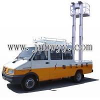 车载铝合金式液压升降机,车载式升降机