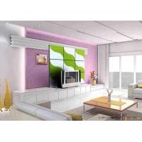 玻莉美钢化玻璃电视背景墙