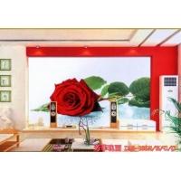 冰晶电视背景墙 电视背景墙 钢化玻璃电视背景墙