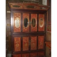 南京仿古家具-东阳木雕-华阳一品居-衣柜