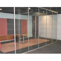 北京玻璃門廠安裝玻璃門北京博安玻璃門公司