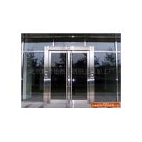 北京安裝玻璃門朝陽區定做不銹鋼玻璃門