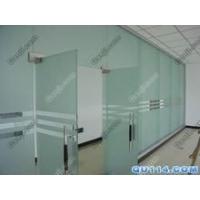 豐臺玻璃門安裝維修地彈簧玻璃門