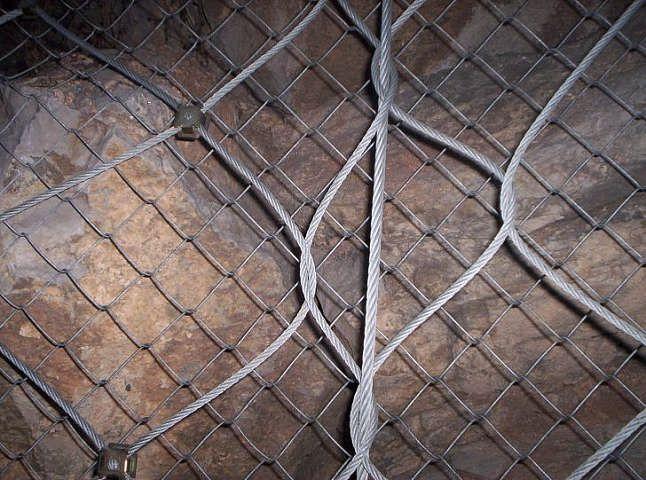 不锈钢绳网编织