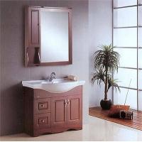 尊陶卫浴-休闲实木系列浴室柜