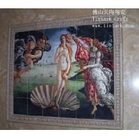 陶瓷壁画、高档陶瓷壁画、欧美壁画、电视墙