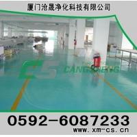 厦门沧晟环氧树脂地坪之环氧树脂高级洁净自流平型地坪