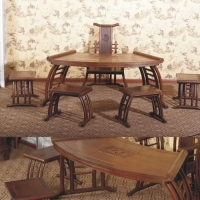 嘉达仿古家具-茶台