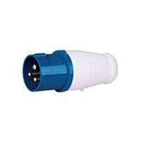 供应工业用三芯IP44插头