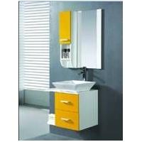 洁具十大品牌麦纳卫浴--PVC浴室柜