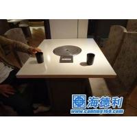 大理石火锅桌/防火板火锅桌/自动桌/折叠火锅桌/电磁炉