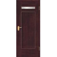 豪华实木贴板造型门PM-483|四川眉山品木世家实木门