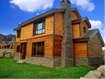 陕西塑木|木屋别墅
