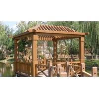 乌鲁木齐防腐木廊架花架-陕西西安宏艺达园林景观