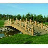 兰州防腐木木桥-陕西西安宏艺达园林景观