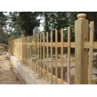 防腐木护栏|陕西西安宏艺达园林景观