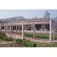 廊架|陕西西安防腐木|炭化木