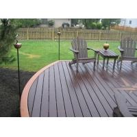 塑木型材-户外地板|陕西西安防腐木|炭化木|户外木材保护油|